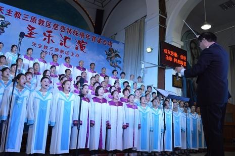 中國兩教區舉辦活動,弘揚聖樂為教會神聖的禮儀服務