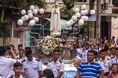 聖母敬禮給菲律賓人帶來希望
