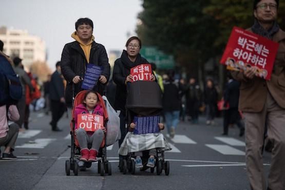 南韓天主教要求朴瑾惠下台,當局曾批教會為反對勢力