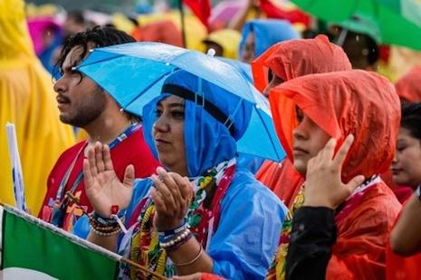 教宗以聖母為未來三屆世青主題,籲青年勇敢面對現在