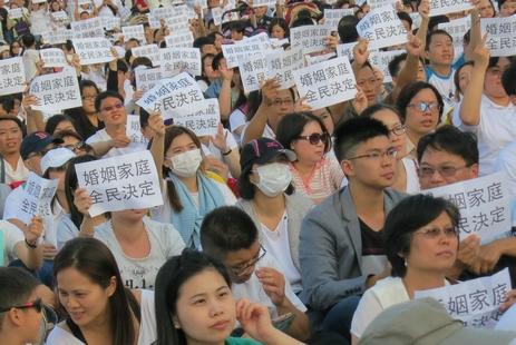 香港教區終身執事就台灣婚姻平權民法修正案首發聲明