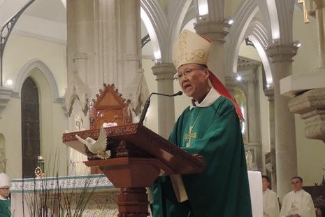 香港教區反對設宗教事務組,林鄭稱不再跟進相關政策