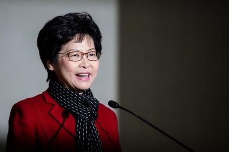 天主教徒林鄭月娥成香港首位女行政長官,歷來最低民望