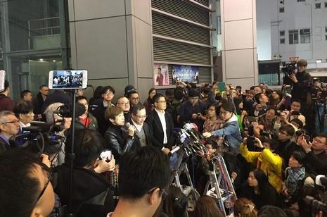 特首選舉翌日拘捕佔中領袖,陳樞機暫未被預約拘捕