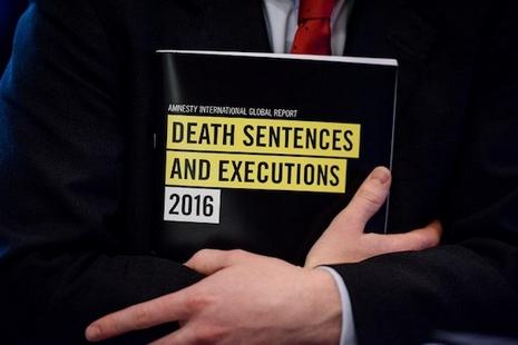 人權組織發死刑報告,中國處決死囚人數高於全球總和