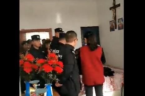 黑龍江當局干預地下教會團體復活慶期平日彌撒