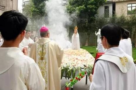 大陸多個教區慶祝法蒂瑪聖母顯現百周年紀念