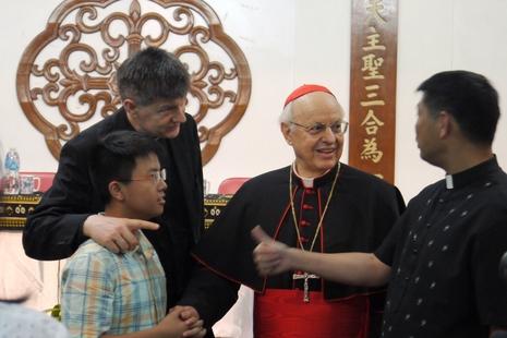 梵蒂岡官員訪台港兩地,籲青年積極回應下屆主教會議