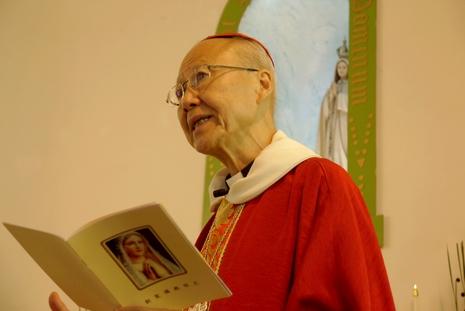 法蒂玛显现一百周年,香港主保堂区迎来更多朝圣者