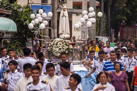 菲律賓慶祝法蒂瑪聖母顯現一百周年之前出現的「奇蹟」