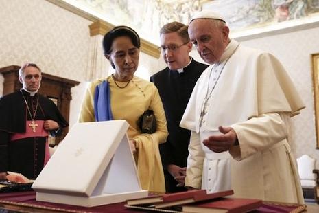 天主教徒歡迎緬甸與梵蒂岡建立外交關係 thumbnail