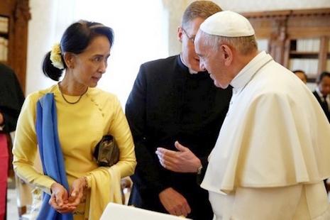 梵蒂岡與緬甸建立外交關係,將互派駐當地外交大使