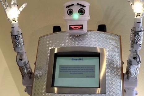BlessU-2機器人「牧師」不會取代真人牧者