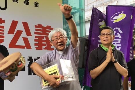 中國官媒禁用慎用詞,不許陳日君樞機「榮休」