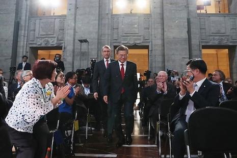 南韓總統伸出橄欖枝,主教們表示歡迎