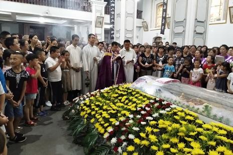 太原李建唐主教安息,當年提早晉鐸成為延續教會主力