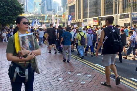 慈幼兩亞洲樞機聲援香港青年政治犯,斥當局政治打壓