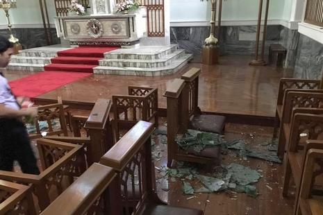 澳門教區為風災舉行特別彌撒,李主教呼籲各界合作