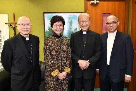 【評論】當林鄭月娥感謝教區──香港教會與政府關係之發展