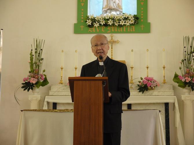 楊鳴章接任香港教區主教,湯樞機繼續為普世教會貢獻 thumbnail