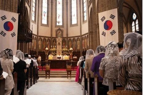 韓國局勢加劇緊張,主教祈求和平