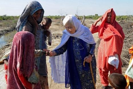有巴基斯坦「德蘭姆姆」之稱的修女安息,獲國葬待遇