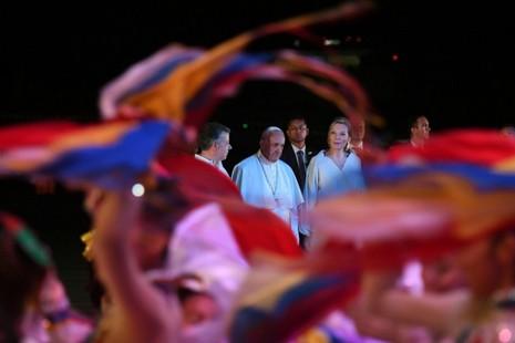 【評論】教宗方濟各訪問哥倫比亞的十個亮點