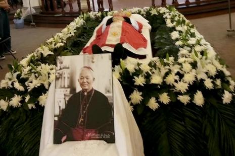 宁波教区胡贤德主教安息主怀,享年八十三岁