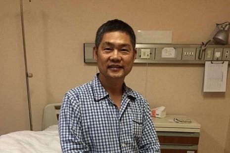 被拘禁溫州主教邵祝敏在北京接受耳疾手術