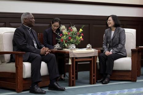 台湾总统邀请教宗访台,称台梵同一阵线促进亚太和平