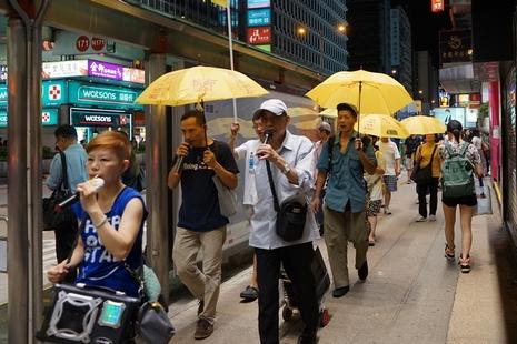 【特稿】風雨不改抗爭逾千天,老教友:沒信仰守不下去