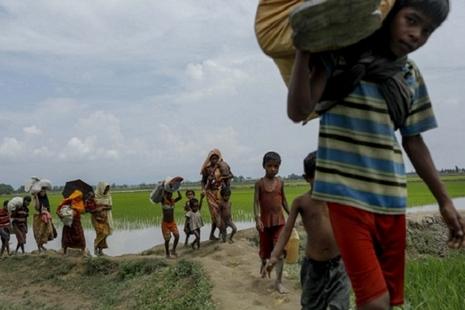 羅興亞難民聲討昂山素姬的講話