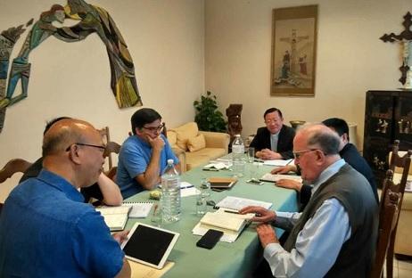 十五名中国主教被迫取消赴比利时参加论坛