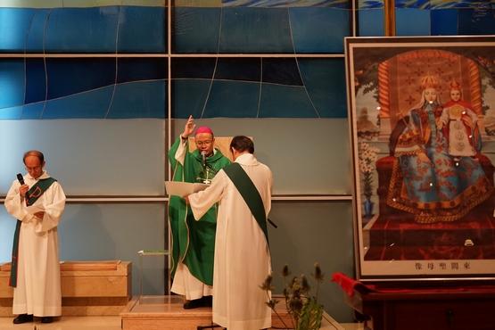 正委會為被失蹤主教舉行彌撒,楊主教強調繼續對話