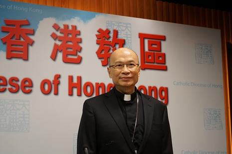 楊鳴章主教:香港青年正面對艱難的時間