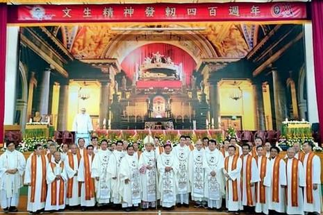 台湾教会庆祝圣云先神恩四百周年