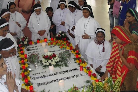 在印度為部落服務的方濟嘉勒會修女宣真福