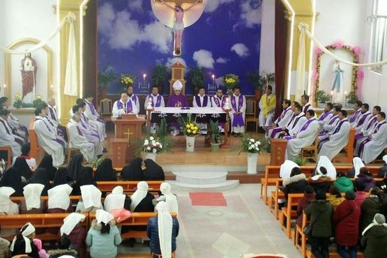 漢中教區余成信主教安息主懷,享年九十歲