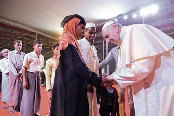 教宗:亞洲之行的「條件」,是跟羅興亞人見面