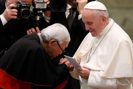 【博文】陳日君樞機撰文致新聞界,澄清主教讓位的消息