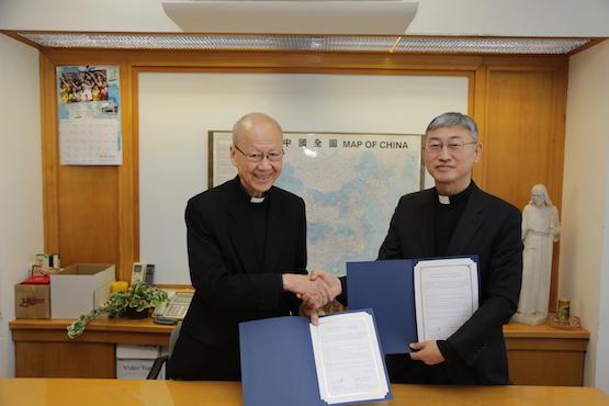 韩国天主教传媒与香港教区研究机构合作推动福传