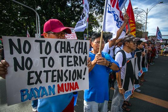 天主教神長抨擊菲律賓政府變改憲章的舉動