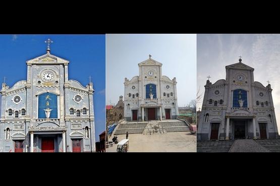 河南首座天主堂遭拆十字架,再裝回卻比原來的小