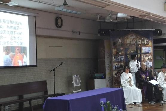 正委會舉辦苦路善工,望中國教會反思耶穌苦路以作榜樣