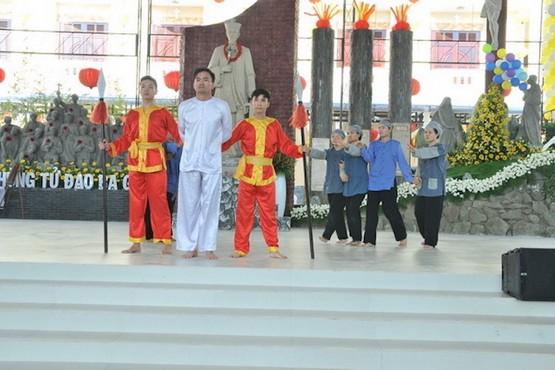 越南教会纪念获封圣的殉道者