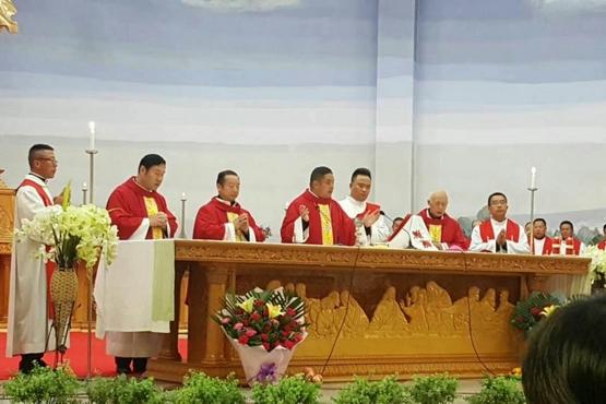 蘭州主教公開就職引發部分神父不滿,主教作出解釋