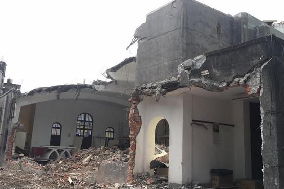 宜蘭礁溪天主堂被拆,管理的修會神父解釋原因