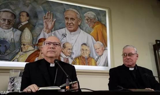 教宗接受三位智利主教辭去牧職