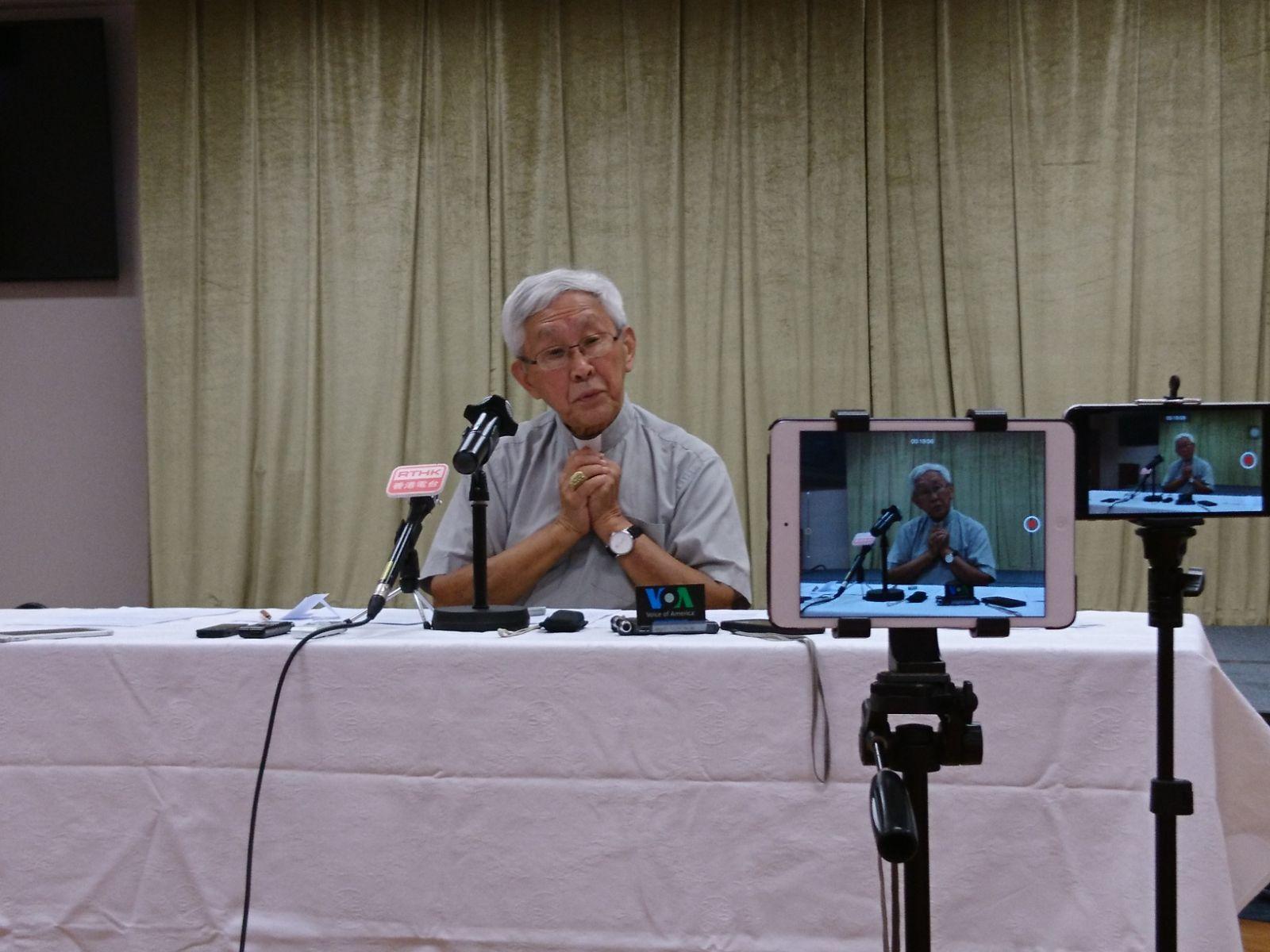 陈日君枢机:政府在教廷协助下消灭地下教会