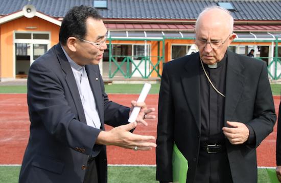 日本東京總主教為在東京設新修院表困惑